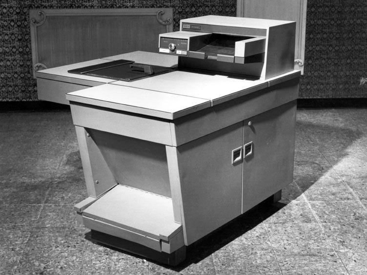 La primera fotocopiadora del mundo. Xerox 914